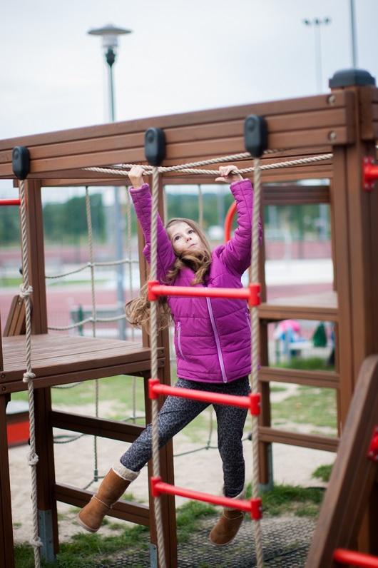 Rope Climbing Frame