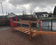 Nature Playground Equipment for Primary School