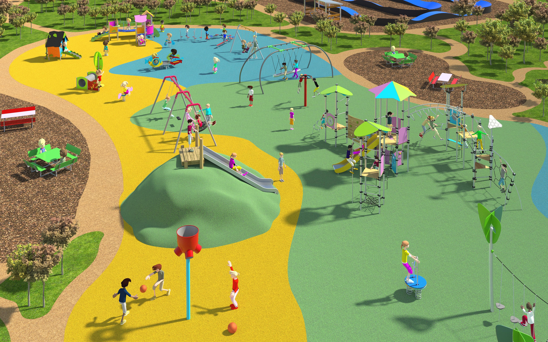 Playground Design Example
