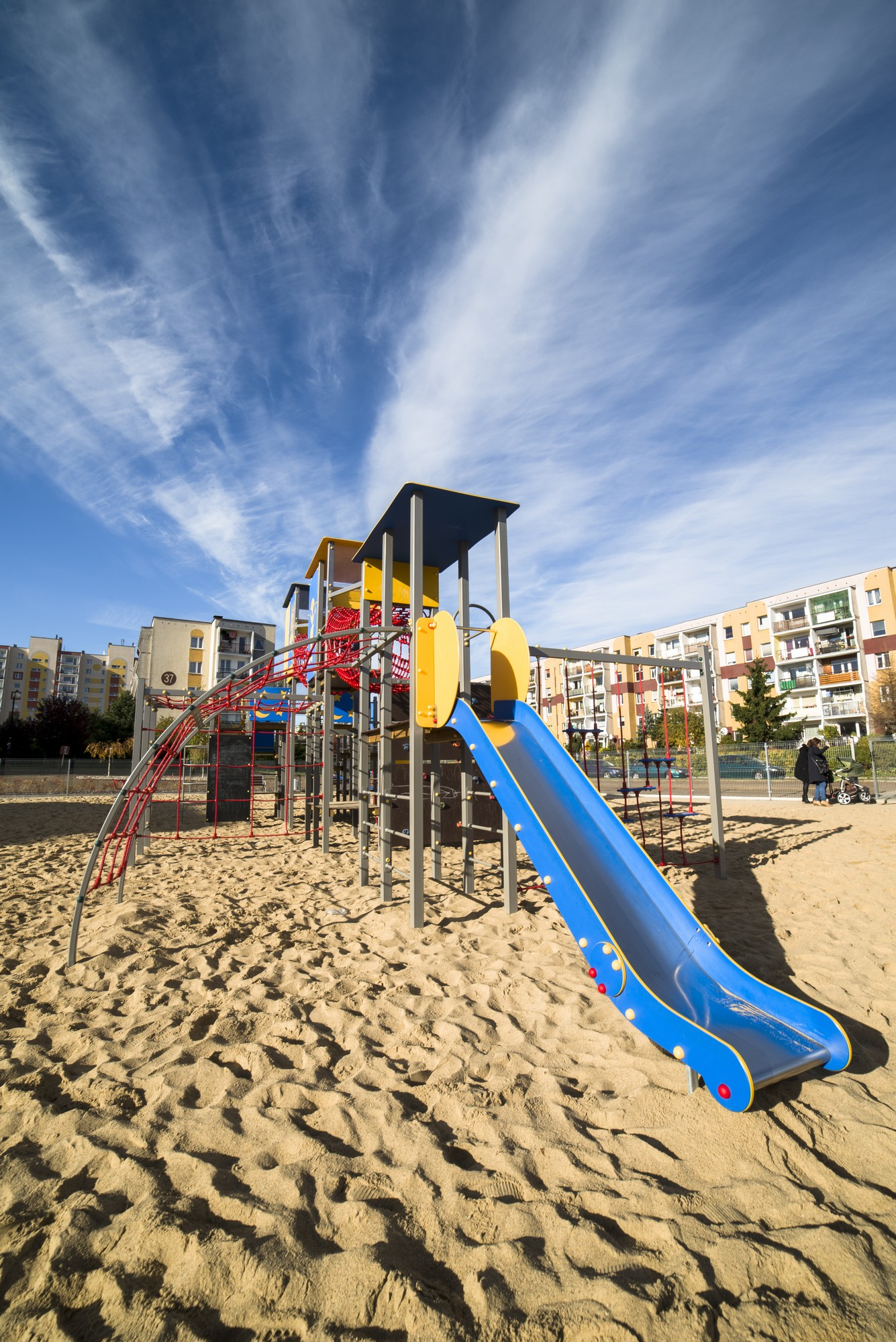 Blue Rumia Playground Slide