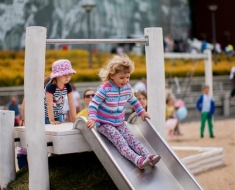 Infant Steel Playground Slide