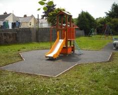 Orange Playground Slide