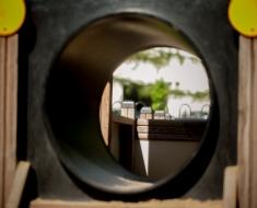Locomotive Playground Tunnel