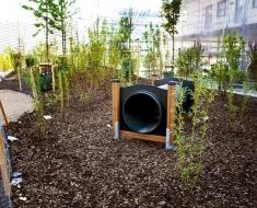 Playground Tunnel in a Garden