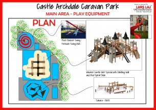 Castle Themed Playground Enniskillen