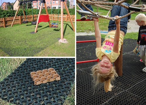Rubber Mats For Playgrounds Lars Play - Soft flooring for children's play area