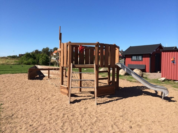 Natural Outdoor Play Equipment